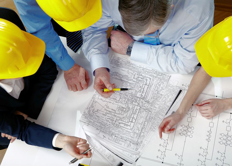The plans for your new home are drawn and the sales representative will review the plans with you prior to construction starting.