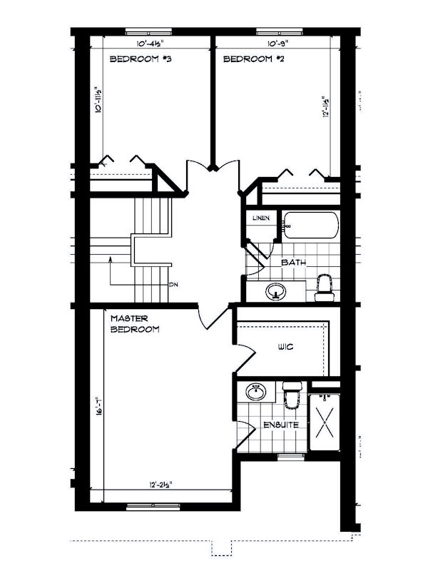 Town for sale a 3 bedroom 2 5 bath home in contemporary for Second empire floor plans