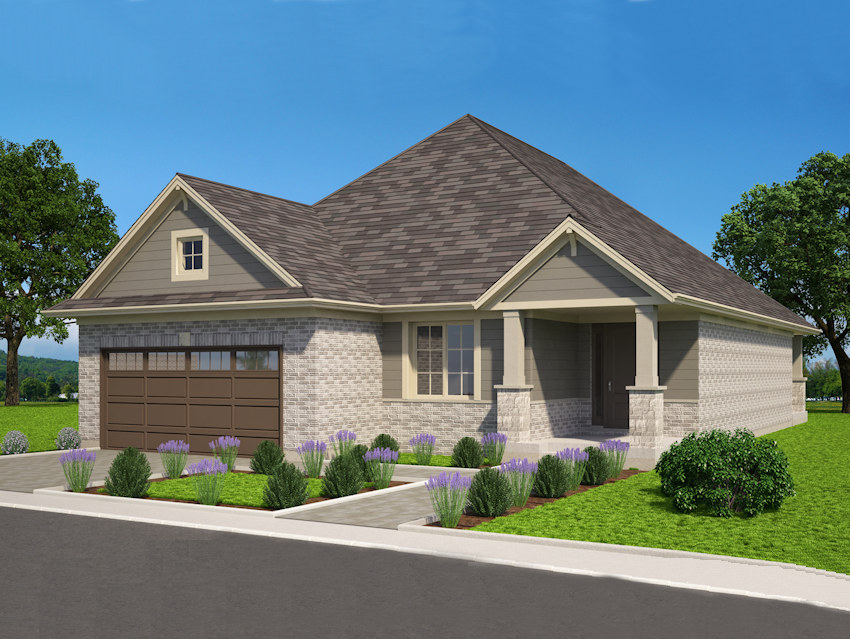 The Shawville at 7-234 Peach Tree will look similar to this home.