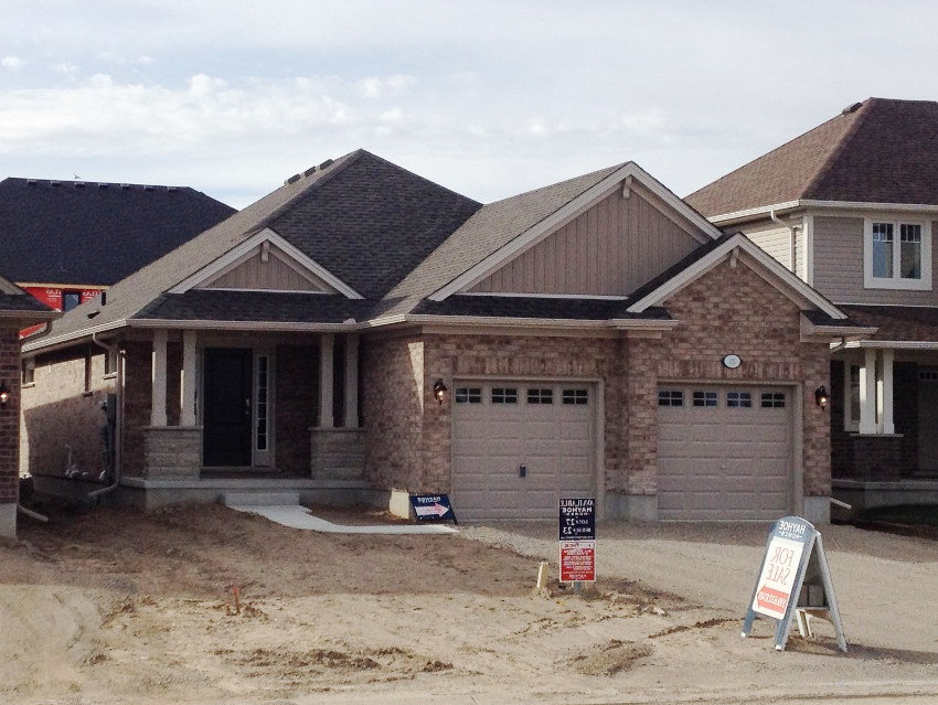 The Trentwood at 216 Peach Tree will look similar to this home.