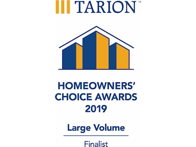 Hayhoe Homes is a 2019 Tarion Homeowner's Choice Finalist!