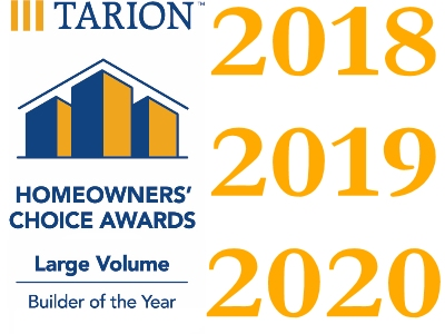 Tarion's Builder of the Year Three Years in a Row
