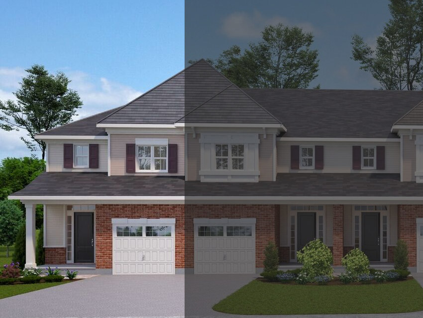 The Tamarack Townhouse at 12-20 Tamarack will look similar to this rendering.