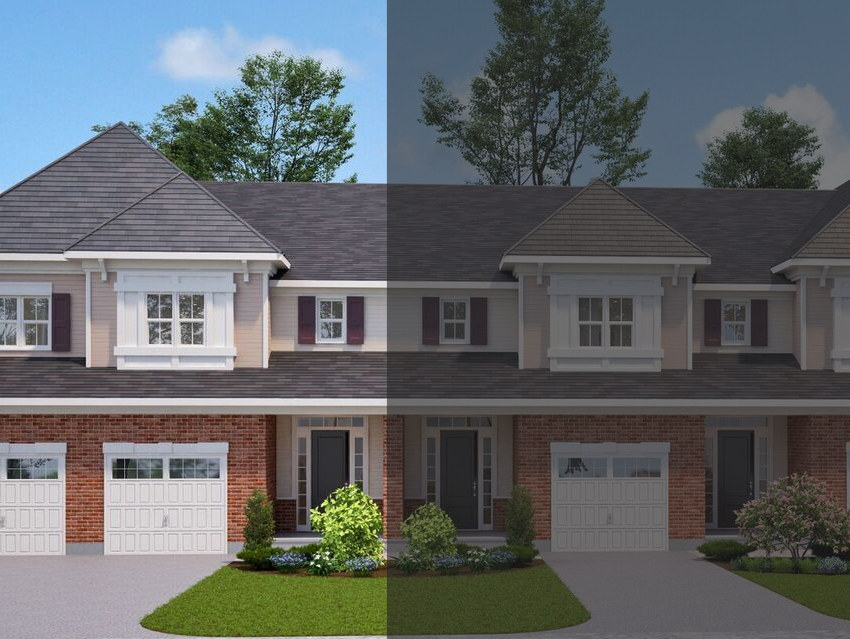 The Tamarack Townhouse at 4-20 Tamarack will look similar to this rendering.