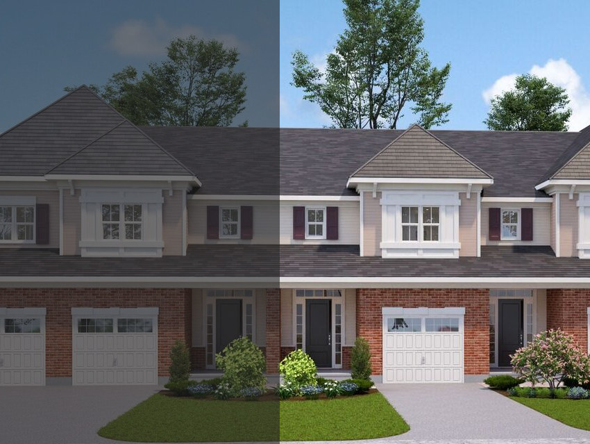 The Tamarack Townhouse at 16-20 Tamarack will look similar to this rendering.