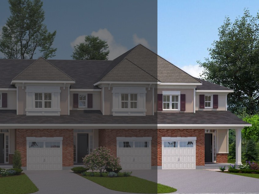 The Tamarack Townhouse at 10-20 Tamarack will look similar to this rendering.