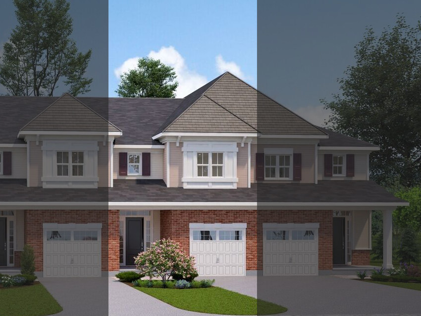 The Tamarack Townhouse at 18-20 Tamarack will look similar to this rendering.
