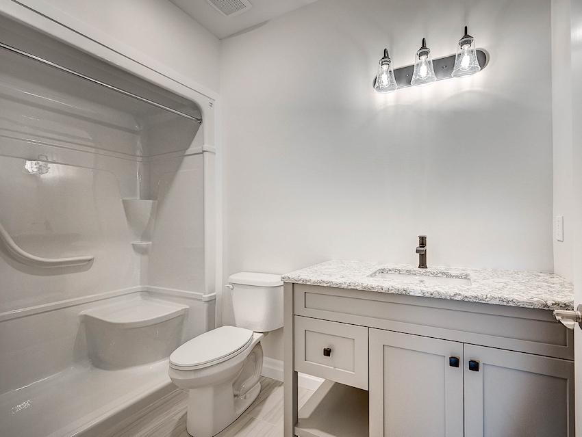 Guest Bath *exact features & finishes shown in photos will vary from the Berkley at 45 Lowrie Cres*