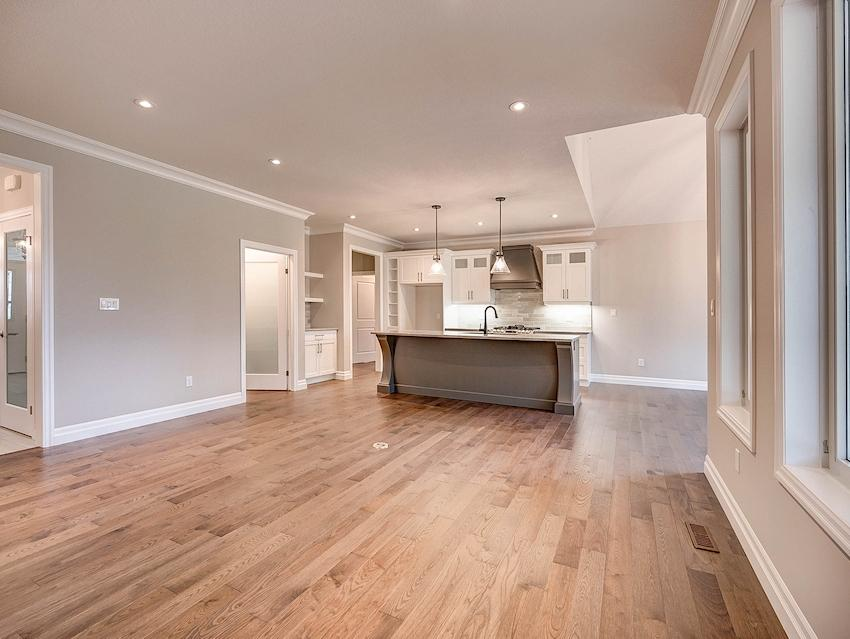 Kitchen & Great Room *exact features & finishes shown in photos will vary from the Berkley at 45 Lowrie Cres*