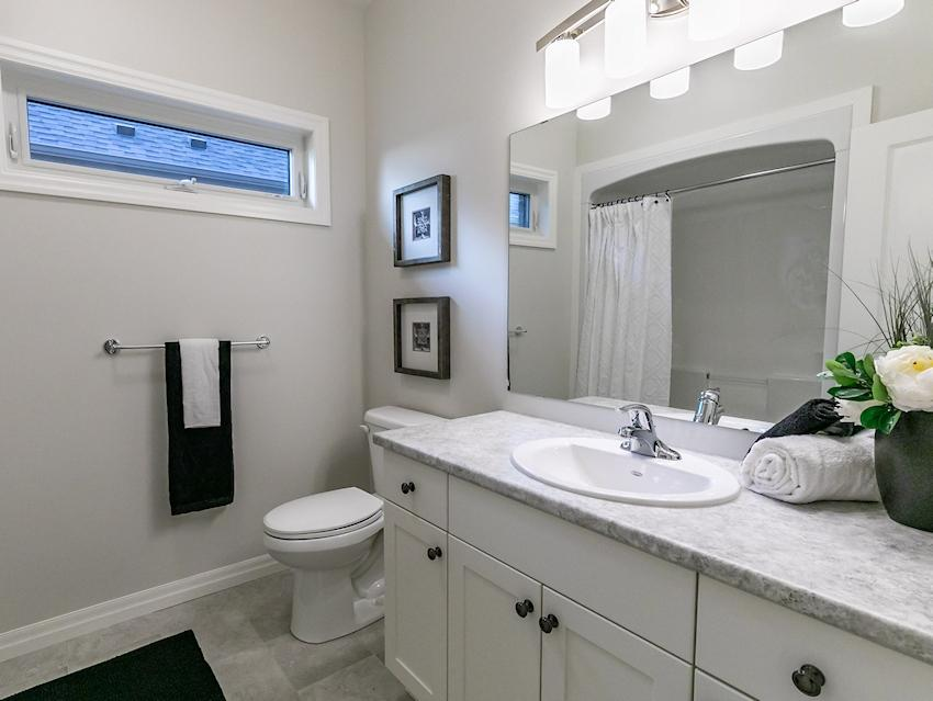 Guest Bathroom *exact features & finishes may vary slightly from photo