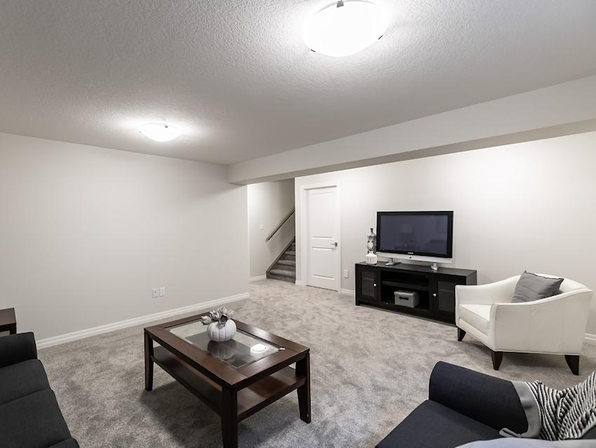 Basement Family Room *exact features & finishes may vary slightly from photo