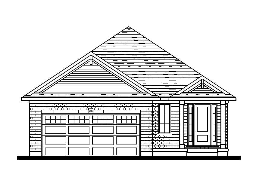 Front Elevation Option 1 - Classic