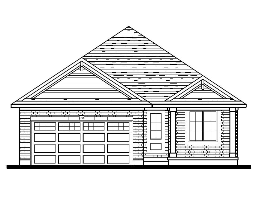 Breckwell Front Elevation Option 1 - Classic