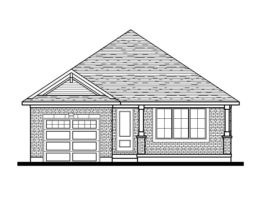 Hampshire Front Elevation Option 1 - Classic
