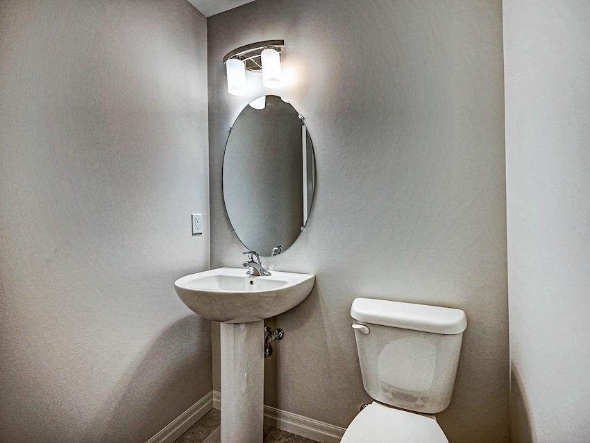 Powder Room *exact features & finishes may vary slightly from photo